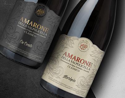Amarone wine label ( Antolini winery )