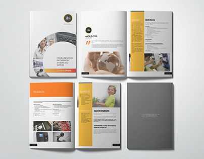 CISS Brochure and Trifold
