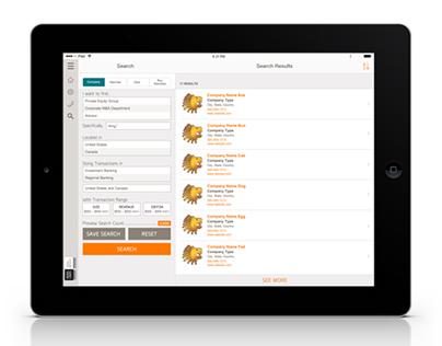 "Intralinks Dealnexus: Mobile iOS - ""Browsing"" Search"