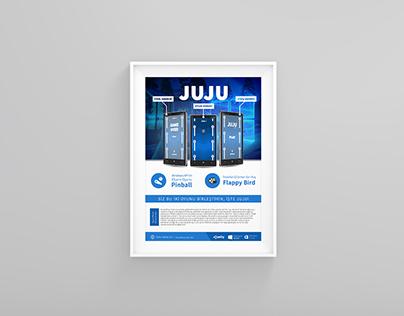 Juju Game Poster Design