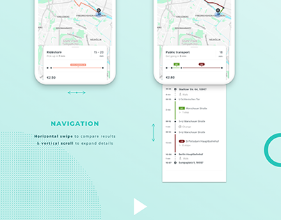 UX & UI | Passenger app