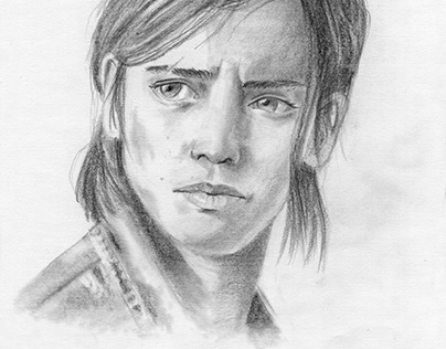 "Ellie - Character from ""the last of us"" game"