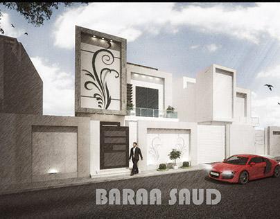 modern villa in Riyadh