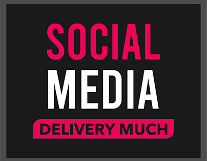 Social Media - Delivery Much