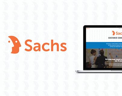 Sachs Website Rebranding