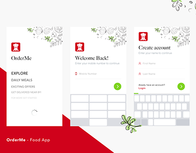 Aroundme Find Local Restaurants On Behance