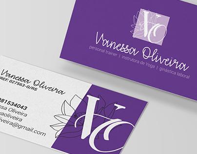Identidade Visual -Vanessa Oliveira