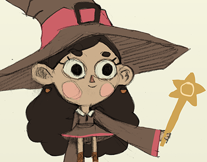 Little Witch character design