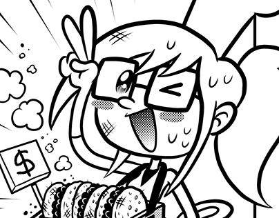 Manga: Cat Burger