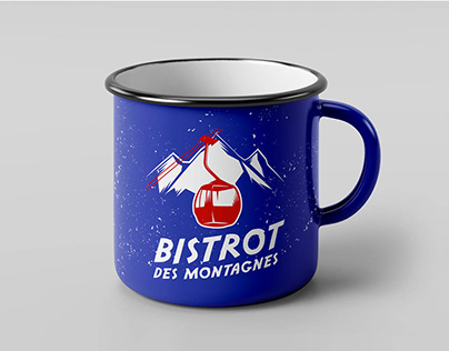 Mug Vintage Montagne