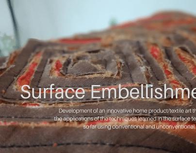 Surface Embellishment