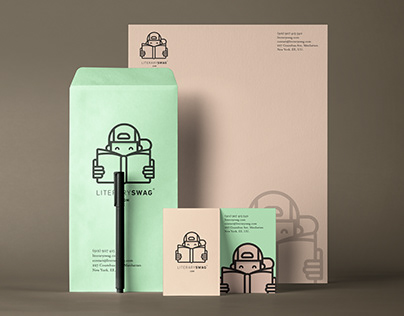 Literary Swag — Branding and Packaging