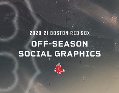 2020-21 Red Sox Off-Season Social Graphics