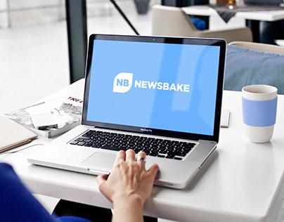 NewsBake Logo & Branding