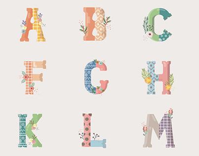 Hoppity- Typeface design