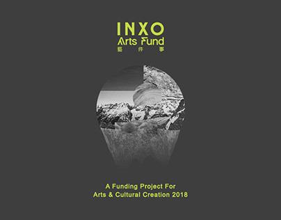 藝件事 INXO Arts Fund 2018 Event Visual Design