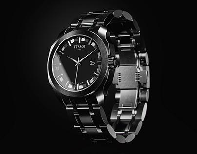Tissot Watch 3D Visualizacion