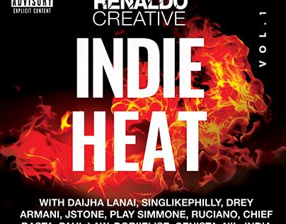 Indie Heat Volume 1 Mixtape Cover