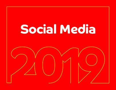 (Social Media) designs 2019