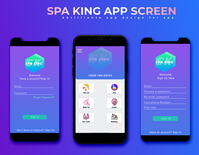 Spa King Ui Design and Free template Download