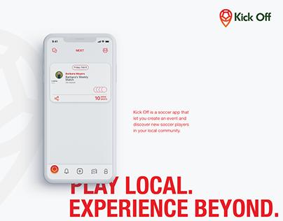 KickOff | Soccer App