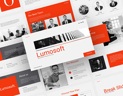 Lumosoft - Business PowerPoint Presentation Template