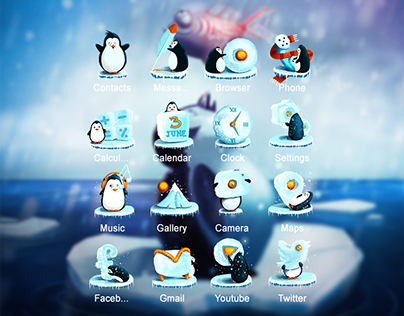Penguins Theme