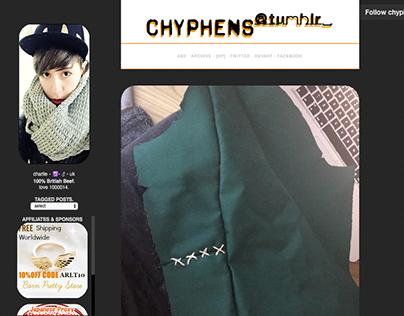 chyphens.com - Blogger theme - CSS3