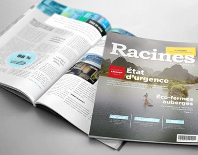 Magazine layout / test