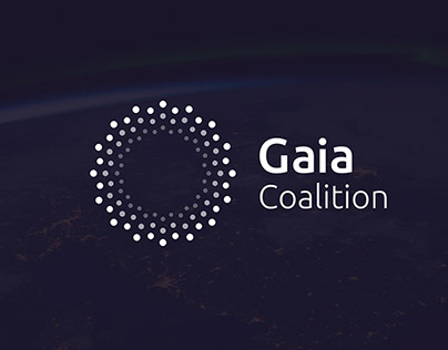 Gaia Coalition - branding project