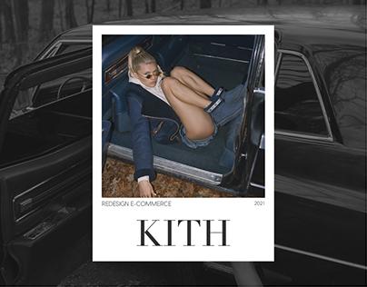 KITH — e-commerce website redesign