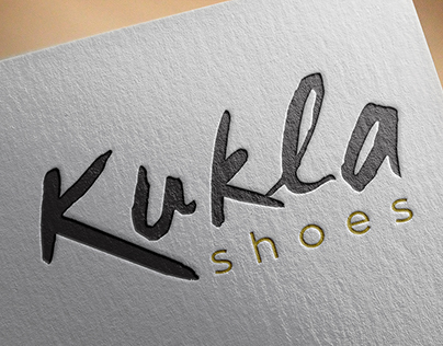 """""""Kukla Shoes"""" Handmade Shoes Logo and Corporate Design"""