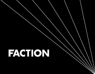 FACTION - new website