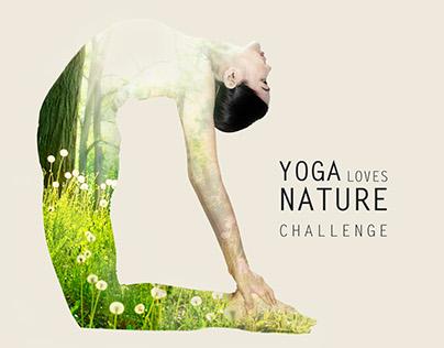 Yoga Loves Nature | Social Media campaign