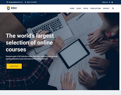 English Aid24 - Educational Website
