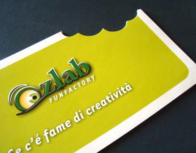 Ozlab funfactory - Logo e Brochure