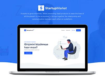 StartupMarket.co UI/UX Design