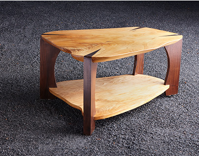 Axe Wedge Coffee Table