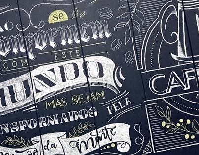 Chalkboard - Café IPIC