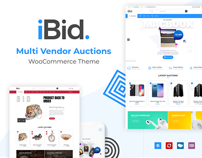 iBid - Multi Vendor Auctions WordPress Theme