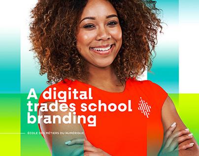 Branding École des métiers du numérique