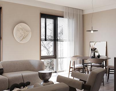Modern design apartment. Lviv
