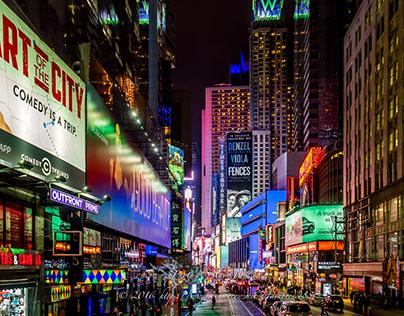 The Night Vs New York