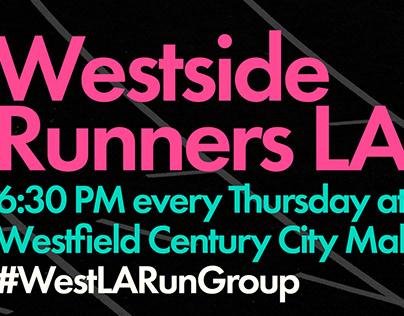 Westside Runners LA Flyer