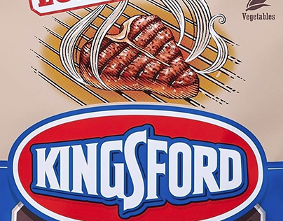 Kingsford Packaging Illustrated by Steven Noble