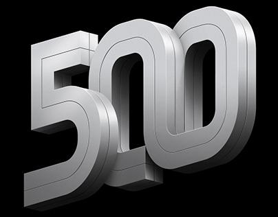Fortune 500 | 2019 Intro Typography