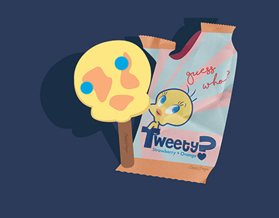 Tweety Popsicle
