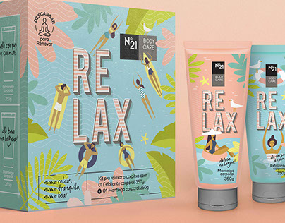 Kit Relax N21 • Package Design
