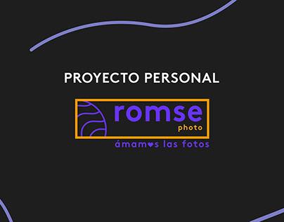 Proyecto fotográfico personal