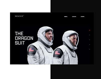 SpaceX UI - The Dragon Suit